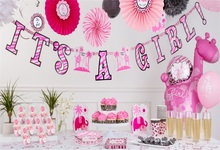 Laeacco Colorful Cake Baby Shower Newborn Girl Photography Background Customized Photographic Backdrops For Photo Studio