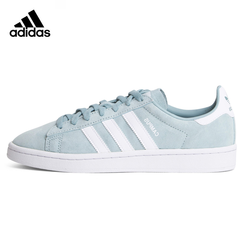 Adidas Campus Beams Women's Walking Shoes, Light Blue, Shock-absorbing, Breathable Lightweight Wear-resistant BZ0082 adidas замшевые кроссовки campus stitch and turn