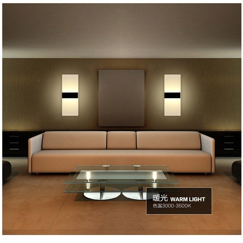 Акрил бра ночники дома Освещение светодиодные энергосберегающие Лампы для мотоциклов Творческий LED спальня bedsidewall лампа