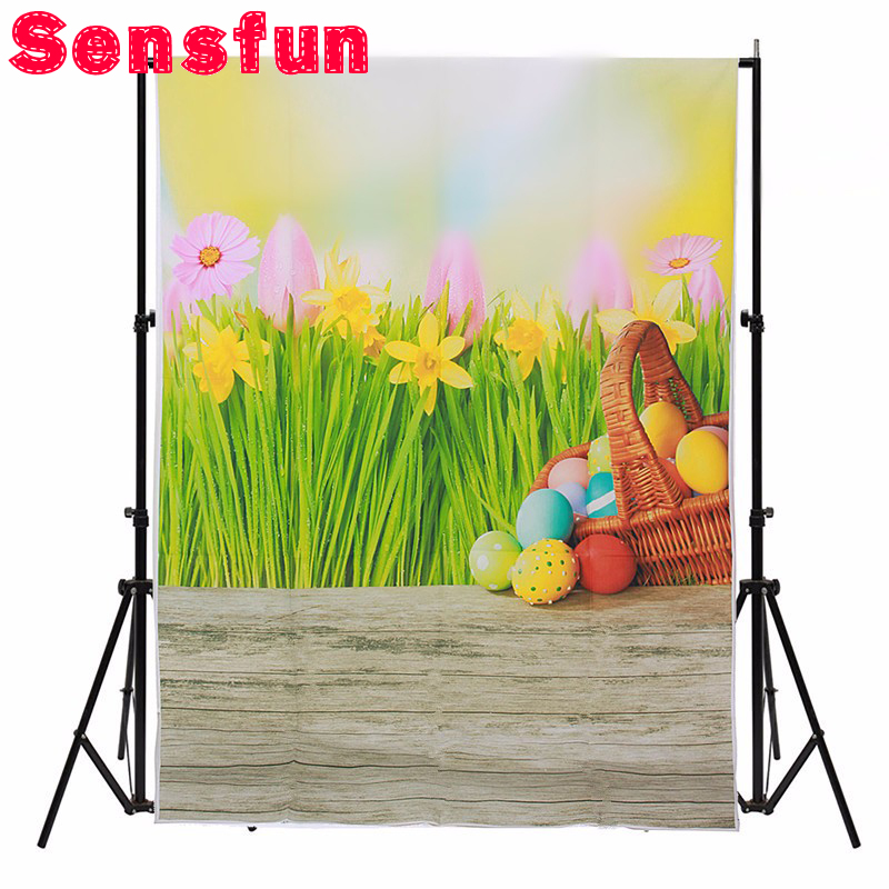 Sensfun 3x5FT Vinyl Photography Backdrop Wood Floor Spring ...