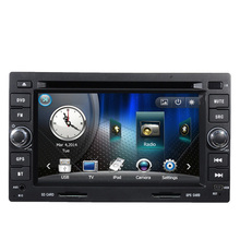 Two Din 6.5 Inch Car DVD Player For Chery/Very/A3/A5/Tiggo/Easter With 3G Host Radio GPS Navigation RDS BT 1080P Ipod Free Maps