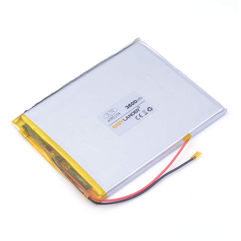 3.7V 3600mAh 4085104 Lithium Tablet PC Battery with protection board For 7inch Tablet Aigo N700ES PAD99 Ramos