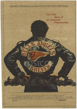 "Фотография  Large Vintage ""HELLS ANGELS FOREVER"" Poster Home Decoration Detailed Antique Poster Wall Chart Retro Paper Matte Kraft Paper"