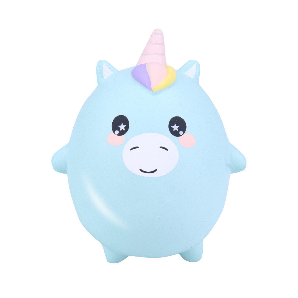 Jumbo Cute Unicorn Pig Rabbit Panda Cat Squishy Slow Rising  Scented Stress Relief Squeeze Toys For Kids Birthday Christmas Gift