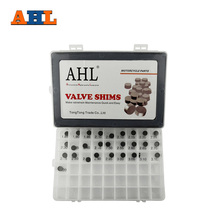 AHL 28pcs Motorcycle Engine Parts 10mm Adjustable Valve Shim Complete Washers Refill Kit For  For Aprilia