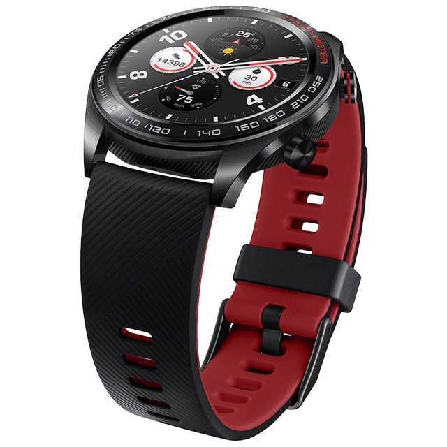 Original Huawei Honor Watch Magic Outdoor Smart Watch Sleek Slim Long Battery Life GPS Scientific Coach Amoled Color 1.2″ 390^2
