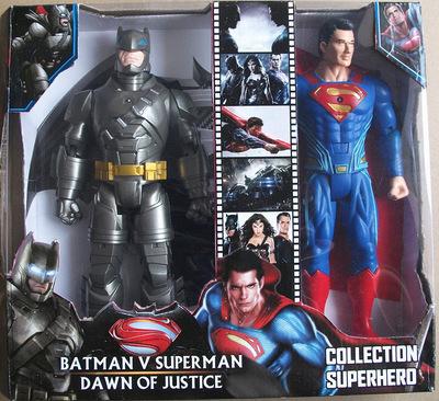 """Batman v Superman: madrugada de Justiça 2016 Batman vs Superman Com Luz PVC Action Figure Collectible Modelo Toy 12 """"WU398"""