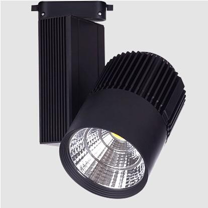 CE RoHS Saving Energy COB Led Track Rail Light 30W Spot Wall Lamp - Pencahayaan LED - Foto 2
