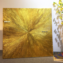 Pop art handmade gold Oil Painting abstract canvas oil paintings wall Art Canvas picture For bedroom living room wedding gifst
