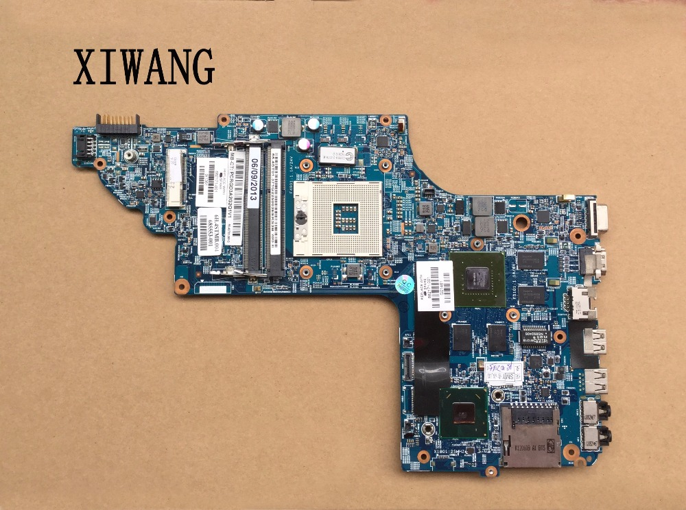 682171-501 Free Shipping Laptop Motherboard 682171-001 For HP Envy DV6 DV6-7000 Motherboard 630M/2G Notebook PC Systemboard