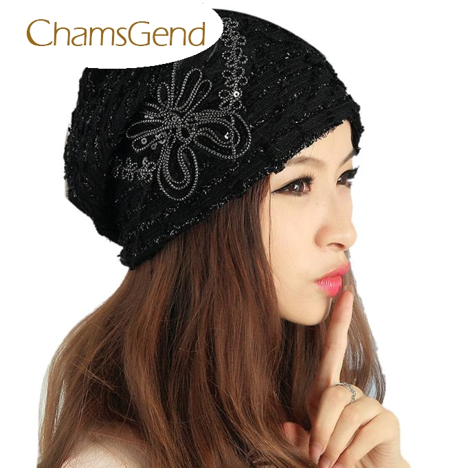Womail WillBeen Women's Winter hat Lace Butterfly Beanie Lady Skullies Turban Cap Fashion Jan22 lady s skullies womail delicate pregnant mothers soft velvet cap maternal prevention wind hat w7