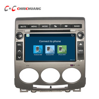 Quad Core Android Car DVD GPS System For Mazda 5 Head Unit With Radio SWC BT