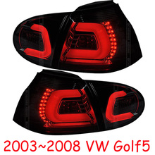 4 шт. автомобильный Стайлинг Golf5 задние фонари для 2005 2006 2007 2008 Golf5 задние фонари светодиодный задний фонарь Golf 5
