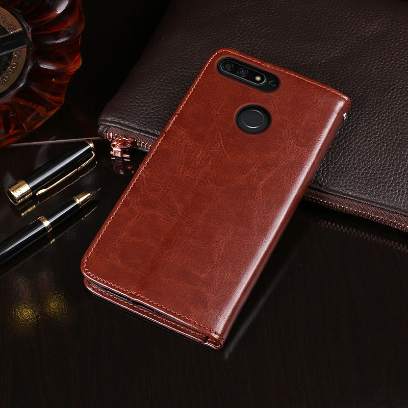 For Huawei <font><b>Honor</b></font> <font><b>7C</b></font> AUM-L41 <font><b>Case</b></font> 5.7'' <font><b>Flip</b></font> Business Wallet Leather Phone <font><b>Case</b></font> for <font><b>Honor</b></font> <font><b>7C</b></font> Russia Version Cover Accessories image