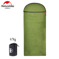 Naturehike New Fleece Sleeping Bag Liner Antimicrobial Soft Comfortable Travel Camping Sheet With Compact Portable Carry