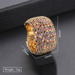 Image 5 - GODKI Luxury Cubic Zirconia Wedding Rings for Women Bridal Engagement Wedding Jewelry CZ Femmale Accessories Whole Finger Rings