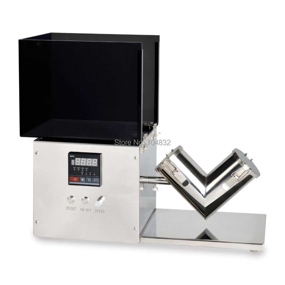 Mini Powder Mixer, V shape Powder Mixing Machine V-1 Type (220V /110V are available)