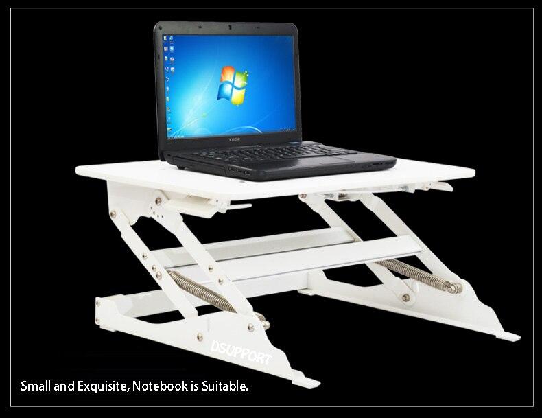 EasyUp Hauteur Réglable Sit Stand Riser Bureau Pliable Bureau D'ordinateur Portable Stand Portable/Moniteur Titulaire Stand E9