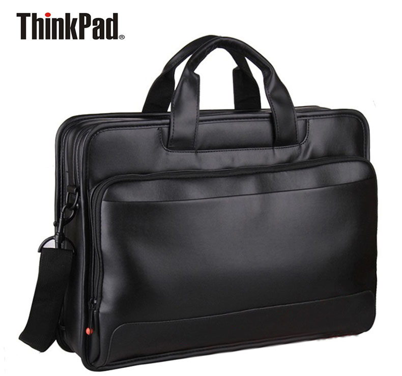 business preferred pro lenovo Original Lenovo ThinkPad Laptop Bag 15.6 inch Business Briefcase Shoulder Sags Supre Capacity Toploader Leather TL410