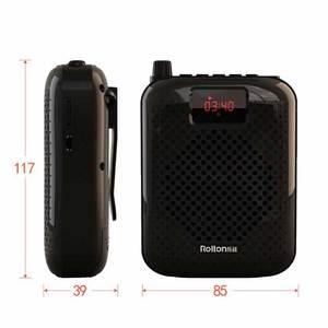 Image 5 - Rolton K500 Bluetooth Tay Lửng Di Động Khuếch Đại Giọng Nói THẮT NƠ EO Clip Hỗ Trợ Đài Phát Thanh TF MP3 Cho Hướng Dẫn Viên Du Lịch, Giáo Viên Cột