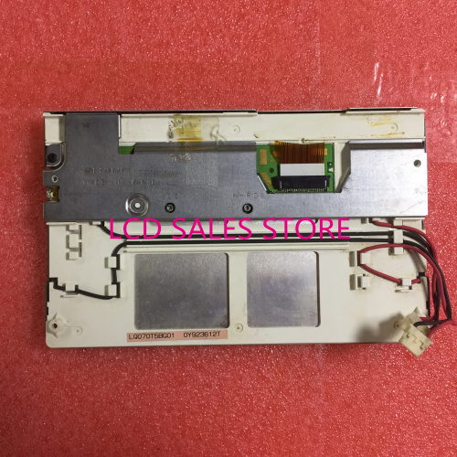 LQ070T5BG01 7 INCH CCFL LAMP INDUSTRIAL LCD DISPLAY SCREEN TFT 480*234 24 PINS ORIGINAL