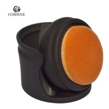 Coshine New Arrival Palm Oval Brush Foundation Makeup Air Brush Loose powder Blush Synthetic Hair Cosmetic