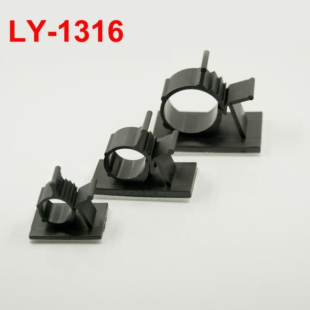 15pcs LY 1316 13mm Dia White Black Circle Self Adhesive Sticky Fixed ...