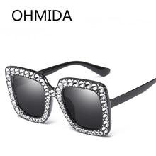 2b7dac4b18e OHMIDA Fashion Oversized Square Sunglasses For Women Brand Designer Sun  Glasses Men Vintage Pink Best Sunglasses Luxury Shades