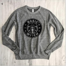 basic witch women hoodies ladies autumn winter sweatshirts fall hoodie 2018 fashion harajuku gothic 90s