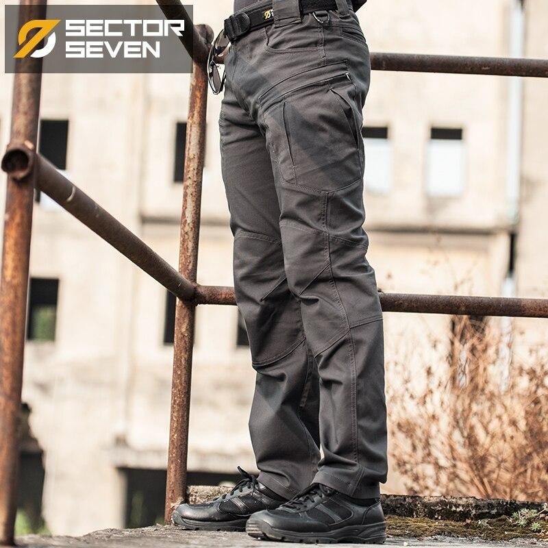 IX8 Waterproof tactical War Game Cargo pants mens silm Casual Pants mens trousers Army military pants Lycra Fabric
