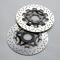 Подходит для Yamaha FZ400/750 FZR400/600 FZS600 Fazer плавающий ротор дисковых передних тормозов