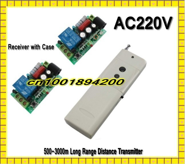 AC220V Long Range Far Distance Remote Control Switch LED Lamp Light Power Remote Control ON OFF Learning Code M4 T4 L4 315/433 remote control switch led light lamp remote on off system ac85v ac260v 100v 110v 240v 230v 127v learning code receiver 315 433