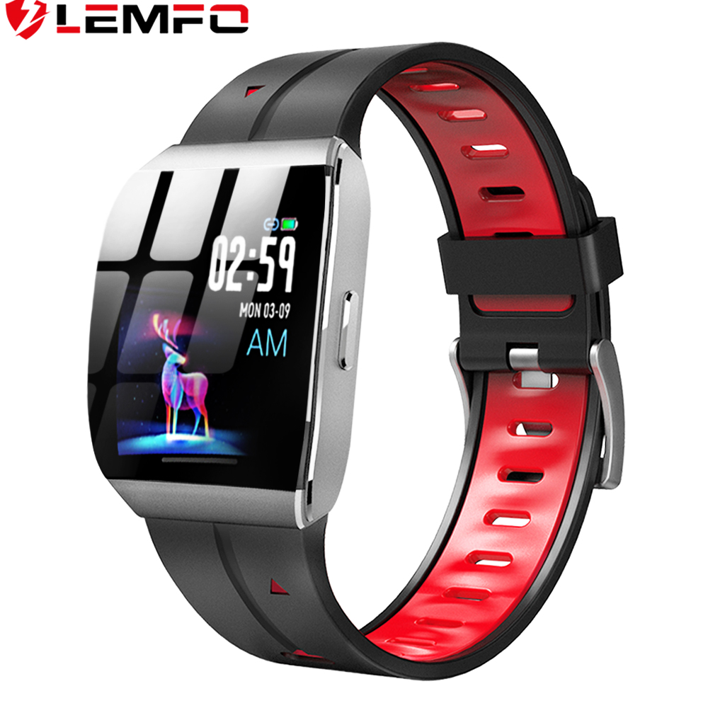 LEMFO X1 Smart Watch Men 1.3 Inch Alloy Case IP68 Waterproof Heart Rate Monitor 30 Days Long Time Standby Smartwatch-in Smart Watches from Consumer Electronics on AliExpress