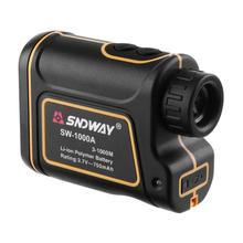 Promo offer Multifunctional Telescope laser rangefinders distance meter tape measure range finder Monocular hunting golf 1000M SW-1000A