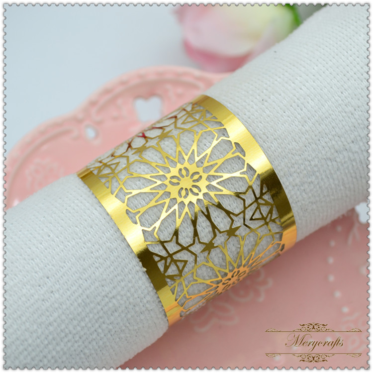 Pearl Paper Home Decor Stock Product India Napkin Rings