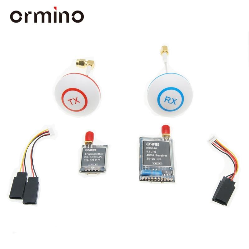 Ormino 5.8G 600mw հաղորդիչ ալեհավաք Quadcopter - Հեռակառավարման խաղալիքներ