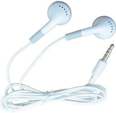 Headphone For iPod for iPhone for iPad, MP3 MP4 earphone 3.5mm In-Ear Earphone Headphone