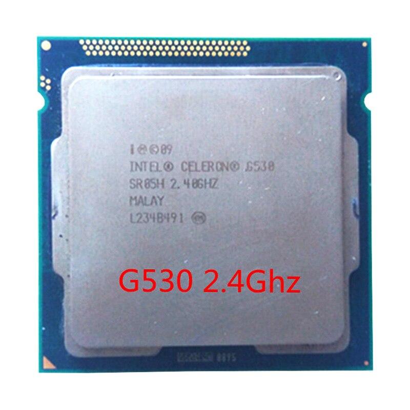Intel Celeron G530 CPU 2M/2.40 GHz LGA 1155 TDP 65W H61 B75 81 B85 Motherboard Have A Pentium Dual Core G2030 2120 2130 Cpu Sale