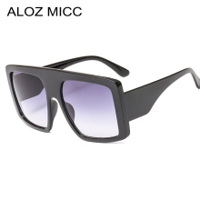 ALOZ MICC Women Oversized Square Sunglasses Men 2019 New Design Vintage Gradient Female Shades Oculos Q618