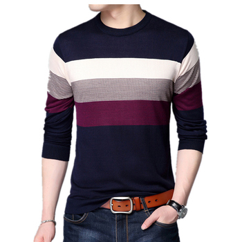 Men Slim Fit Sweater