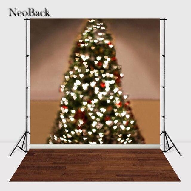 NeoBack 5x7ft Kerstboom Verlichting Bokeh Foto achtergrond ...