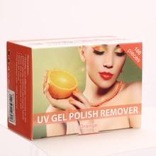 SEXY MIX Nail Gel Polish Removal Wraps 200pcs box UV Gel Pollish Remover 4 Color 4