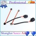 2 PCS Rear Brake Pads Sensor 7L0907637 For Audi Q7 VW Touareg Porsche Cayenne 2004 2005 2006 2007 2008 2009 2010 2011 2012 13 14