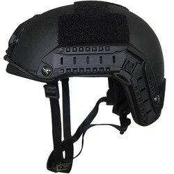CCGK Пуленепробиваемый Шлем уровень IIIA 3A Быстрый MH High Cut пуленепробиваемый арамидный баллистический шлем самообороны