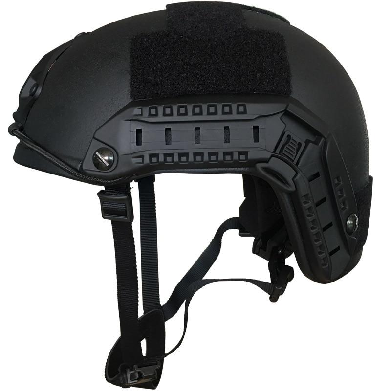 CCGK Bulletproof Helmet Level IIIA 3A FAST MH High Cut Bullet Proof Aramid Ballistic Helmet Self Defense