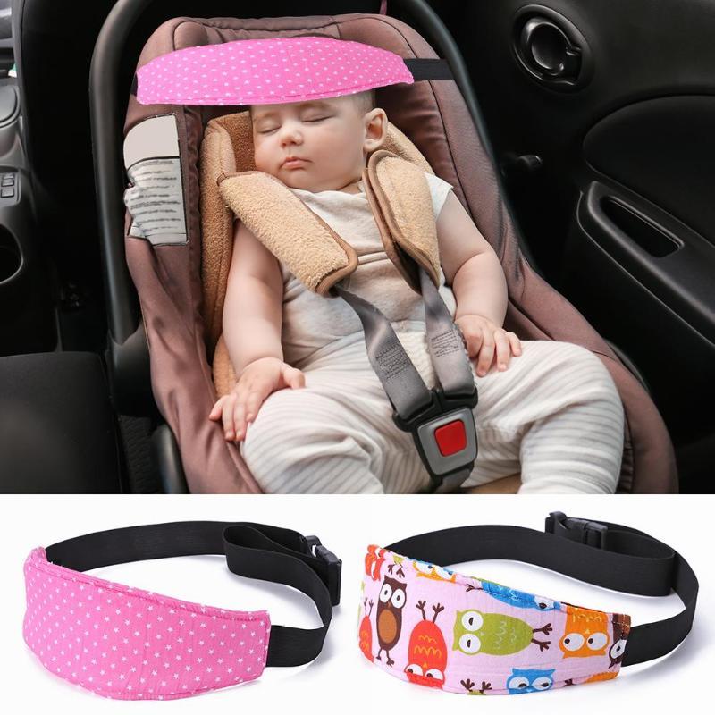 Baby Head Support Stroller Car Seat Fastening Belt Sleep Safety Strap Adjustable