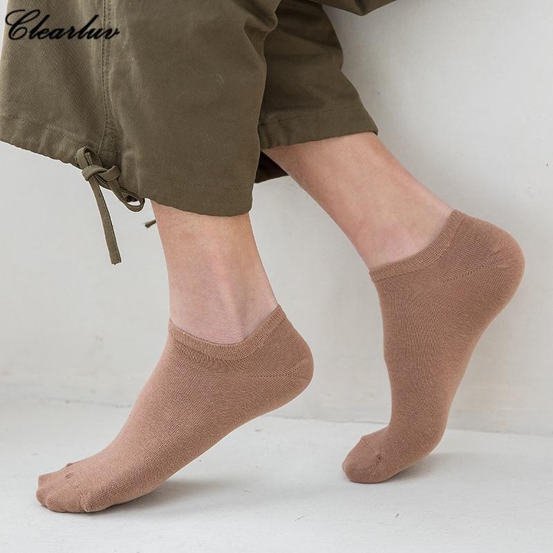 2019 New High Quality Mens Cotton Socks Harajuku Style Leaf Camouflage Short Socks For Men Hip Hop Skateboard Ankle Sock Man Dependable Performance Underwear & Sleepwears