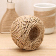 1 Roll 55yards/160feet Jute Twine DIY Hemp Rope Linen Cord Jute Thread Yarn Decor Supplies