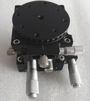Xzr axe Table coulissante optique coupe étage linéaire manuel déplacement station de croix Guide Roller XZR60R 60 * 60 mm