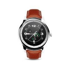 Smartch DM365 Bluetooth 4.0 Smart Watch 360*360 IPS full view & Leather Strap Pedometer Sleep Monitor Support Hebrew Turkish